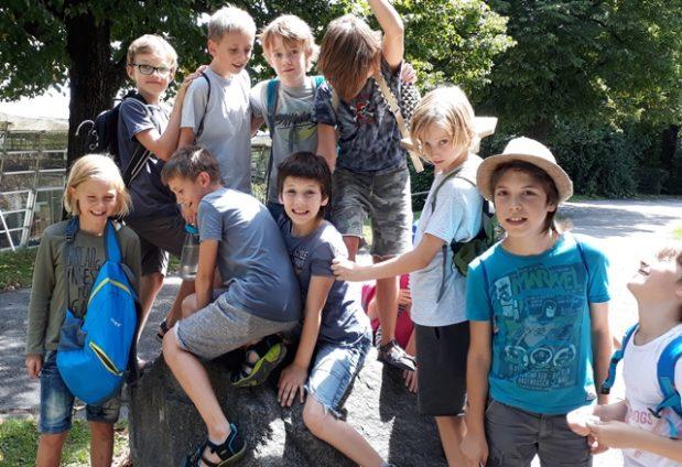 Sommerferien im Rumfordschlössl- bunt und vielfältig- Erholung inbegriffen